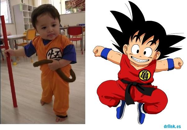 Disfraz Halloween Goku